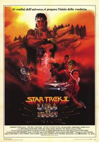 Star Trek 2: The Wrath of Khan - 11 x 17 Movie Poster - Italian Style A