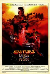 Star Trek 2: The Wrath of Khan - 27 x 40 Movie Poster - Italian Style A