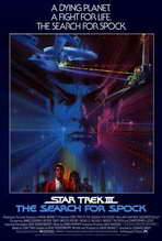 Star Trek 3: The Search for Spock - 27 x 40 Movie Poster - Style B