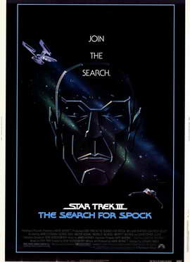 Star Trek 3: The Search for Spock - 11 x 17 Movie Poster - Style A