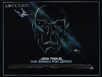 Star Trek 3: The Search for Spock - 30 x 40 Movie Poster UK - Style A