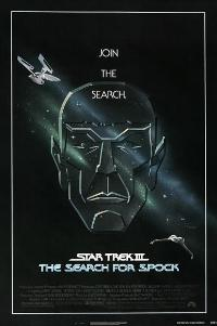 Star Trek 3: The Search for Spock - 27 x 40 Movie Poster - Style C