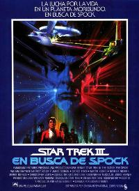 Star Trek 3: The Search for Spock - 11 x 17 Movie Poster - Spanish Style B