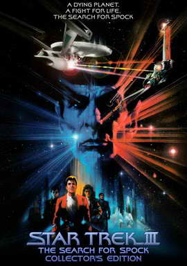 Star Trek 3: The Search for Spock - 27 x 40 Movie Poster - Style E