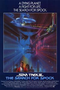 Star Trek 3: The Search for Spock - 11 x 17 Movie Poster - Style B - Museum Wrapped Canvas