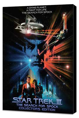 Star Trek 3: The Search for Spock - 27 x 40 Movie Poster - Style E - Museum Wrapped Canvas