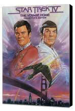 Star Trek 4: The Voyage Home - 27 x 40 Movie Poster - Style D - Museum Wrapped Canvas
