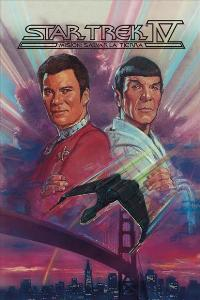 Star Trek 4: The Voyage Home - 11 x 17 Movie Poster - Swedish Style A