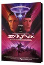Star Trek 5: The Final Frontier - 27 x 40 Movie Poster - Style A - Museum Wrapped Canvas