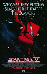 Star Trek 5: The Final Frontier - 11 x 17 Movie Poster - Style B