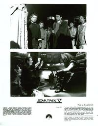 Star Trek 5: The Final Frontier - 8 x 10 B&W Photo #1