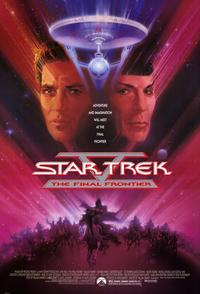 Star Trek 5: The Final Frontier - 11 x 17 Movie Poster - Style A - Museum Wrapped Canvas