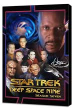 Star Trek: Deep Space Nine - 11 x 17 Movie Poster - Style I - Museum Wrapped Canvas