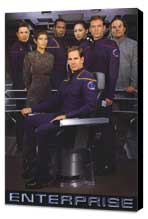 Star Trek: Enterprise - 11 x 17 TV Poster - Style A - Museum Wrapped Canvas