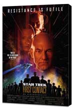 Star Trek: First Contact - 27 x 40 Movie Poster - Style A - Museum Wrapped Canvas