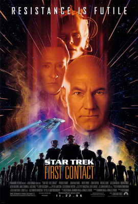 Star Trek: First Contact - 27 x 40 Movie Poster - Style A