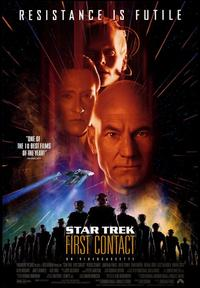 Star Trek: First Contact - 43 x 62 Movie Poster - Bus Shelter Style A