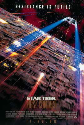 Star Trek: First Contact - 27 x 40 Movie Poster - Style C