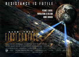 Star Trek: First Contact - 11 x 17 Movie Poster - Style D
