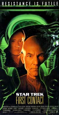 Star Trek: First Contact - 11 x 17 Movie Poster - Style E