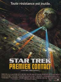 Star Trek: First Contact - 11 x 17 Movie Poster - French Style B