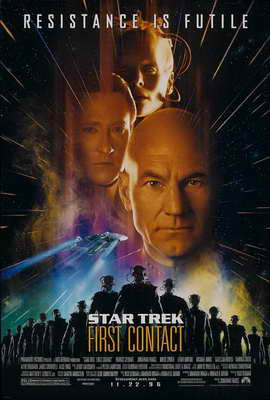 Star Trek: First Contact - 11 x 17 Movie Poster - Style F