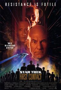 Star Trek: First Contact - 11 x 17 Movie Poster - Style A - Museum Wrapped Canvas