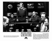 Star Trek: Generations - 8 x 10 B&W Photo #5