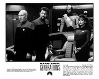 Star Trek: Generations - 8 x 10 B&W Photo #7