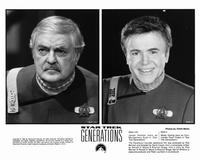 Star Trek: Generations - 8 x 10 B&W Photo #9
