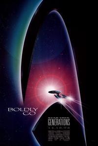 Star Trek: Generations - 11 x 17 Movie Poster - Style B