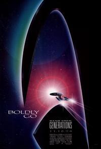 Star Trek: Generations - 27 x 40 Movie Poster - Style B