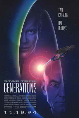 Star Trek: Generations - 27 x 40 Movie Poster - Style A