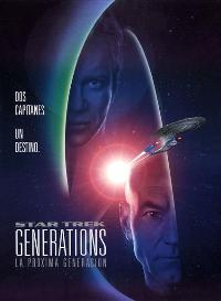 Star Trek: Generations - 27 x 40 Movie Poster - Spanish Style B
