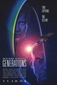 Star Trek: Generations - 11 x 17 Movie Poster - Style A - Museum Wrapped Canvas