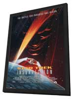 Star Trek: Insurrection - 11 x 17 Movie Poster - Style A - in Deluxe Wood Frame