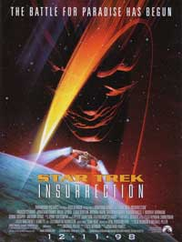 Star Trek: Insurrection - 11 x 17 Movie Poster - Style B