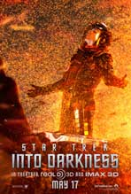 Star Trek Into Darkness - 27 x 40 Movie Poster - Style F