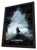 Star Trek Into Darkness - 27 x 40 Movie Poster - Style A - in Deluxe Wood Frame