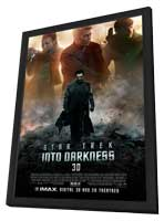 Star Trek Into Darkness - 27 x 40 Movie Poster - Style C - in Deluxe Wood Frame