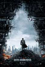 Star Trek Into Darkness - DS 1 Sheet Movie Poster - Style A - Rare Spot Coated Version