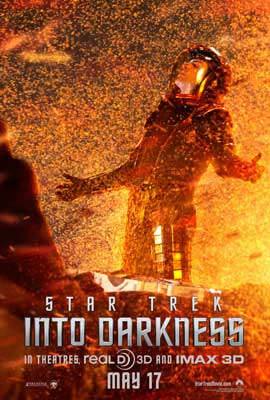 Star Trek Into Darkness - 11 x 17 Movie Poster - Style F