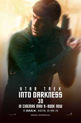 Star Trek Into Darkness - 11 x 17 Movie Poster - UK Style C