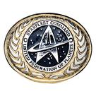 Star Trek - United Federation of Planets Buckle