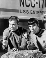 Star Trek - Spock and Kirk, Phasers set to Stun