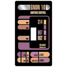Star Trek - LCARS Light Switch Cover