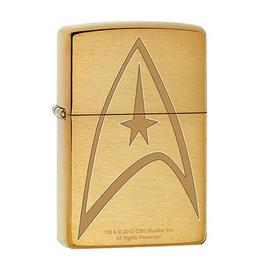 Star Trek - Command Uniform Brushed Brass Zippo Lighter