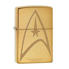 Star Trek - Command Uniform Brushed Brass Zippo Lighter
