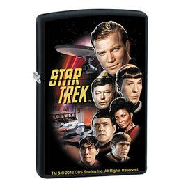 Star Trek - The Original Series Crew Black Matte Zippo Lighter
