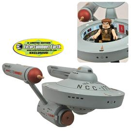 Star Trek - EE Exclusive Mirror Minimates Enterprise Vehicle